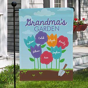 personalized grandma s garden yard flag vinyl projects pinterest