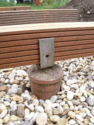 Fabulous Punktfundament | Bahçe - zemin | Garten ideen, Punktfundament GA65
