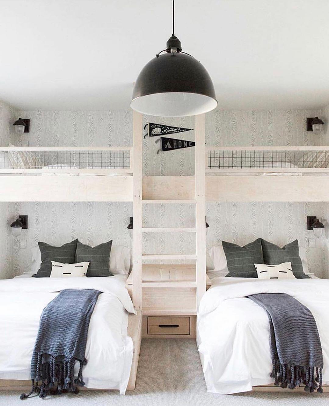 """Lauren Alvarez on Instagram """"The coolest bunk beds ever"""