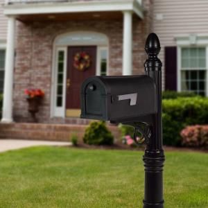 Gibraltar Mailboxes Stratford Decorative Plastic Mailbox Post In