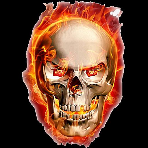 Fire Skull Png Image Skull Fire Skull Png Photo