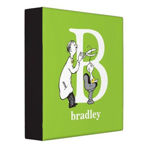 Dr. Seuss's ABC: Letter B - White