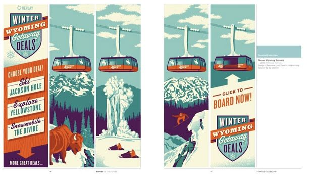 Echoes of the Future Young designers, Travel brochure and Brochures - travel brochure templates
