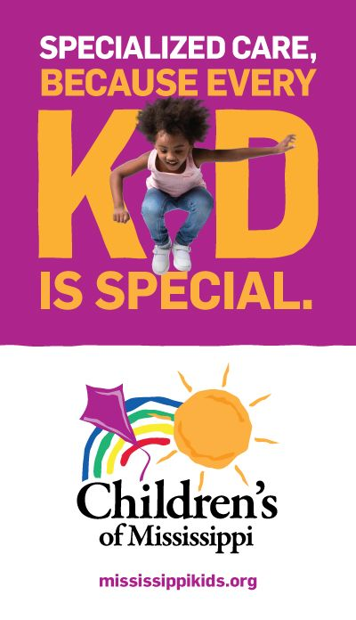 Children's of Mississippi - Mississippi Kids Campaign Building Banner (Aug. 2016)
