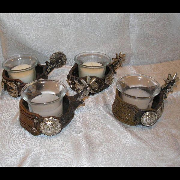 Sat\'n Spurs Western Wedding - Western Wedding Table Decorations ...