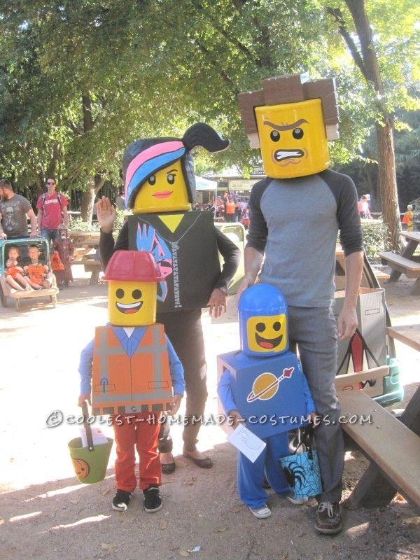amazing family themed lego movie costumes lego movie