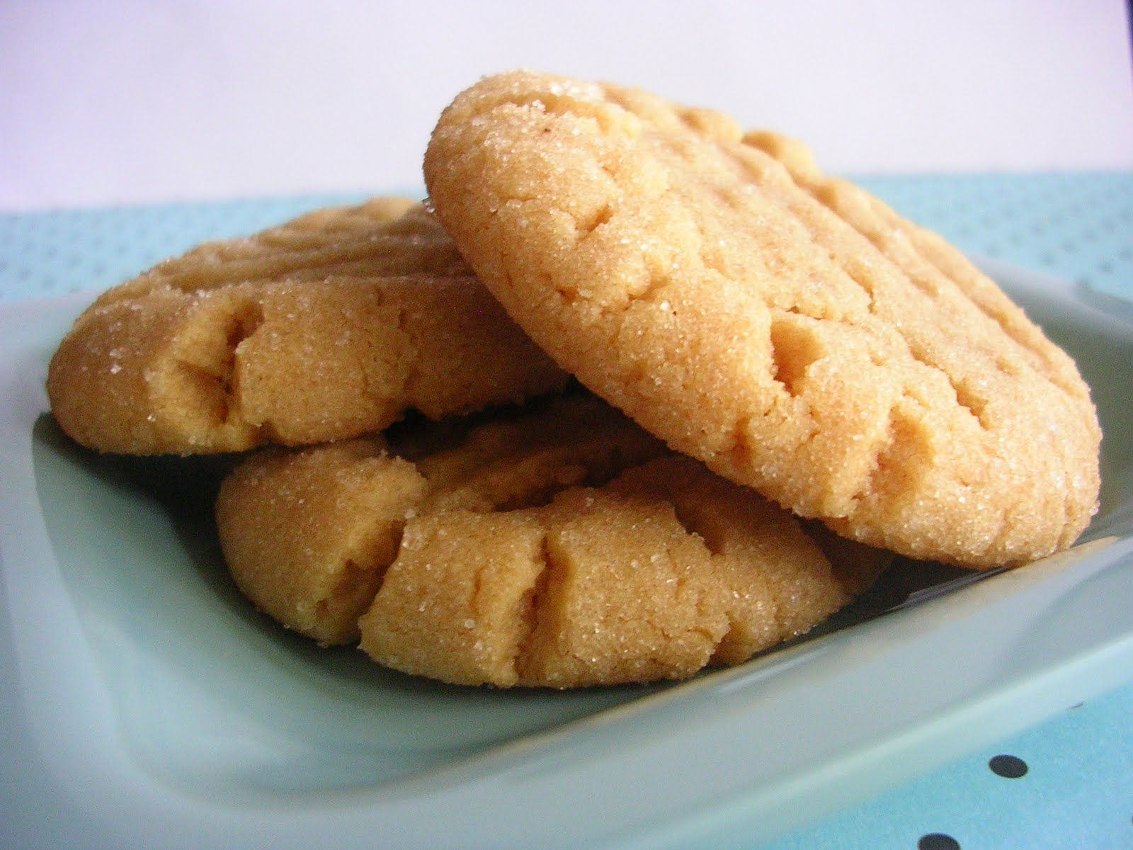 Baked peanut butter cookie recipe