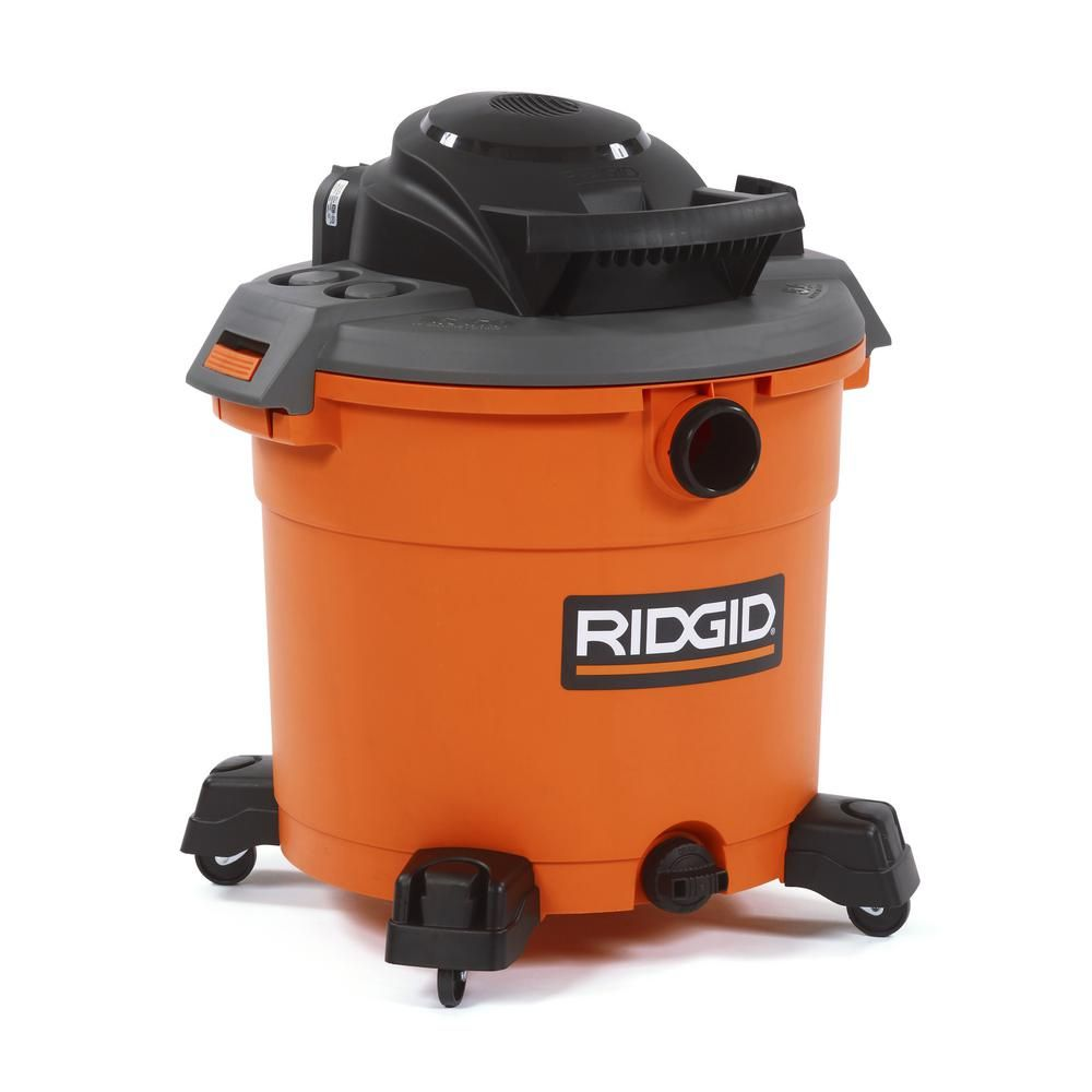 RIDGID 16 gal. 5.0-Peak HP Wet Dry Vac-WD1640 - The Home Depot purchased November 30, 2016 for $39.88