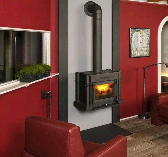 Gaskamin von Rüegg #Gaskamin #gas fireplace #Kamin #Ofen - ofen für wohnzimmer