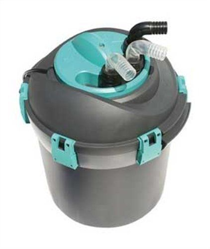 Cobalt pond prexo 1800 uv 8 w pressure filter by cobalt for Cleaning pond filter