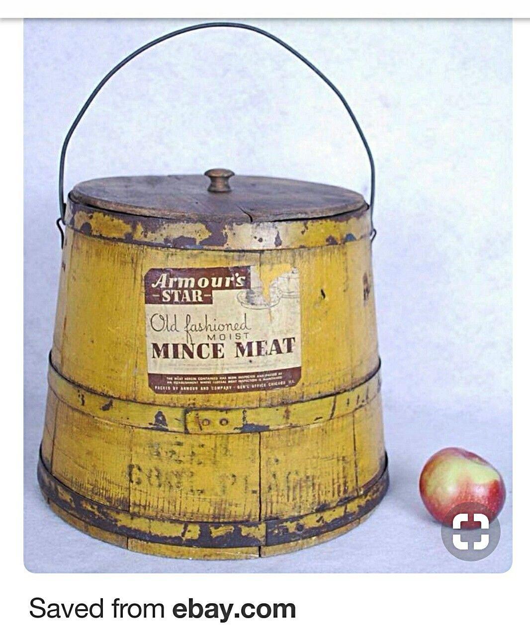 Antique Bucket, Antiques, Pantry