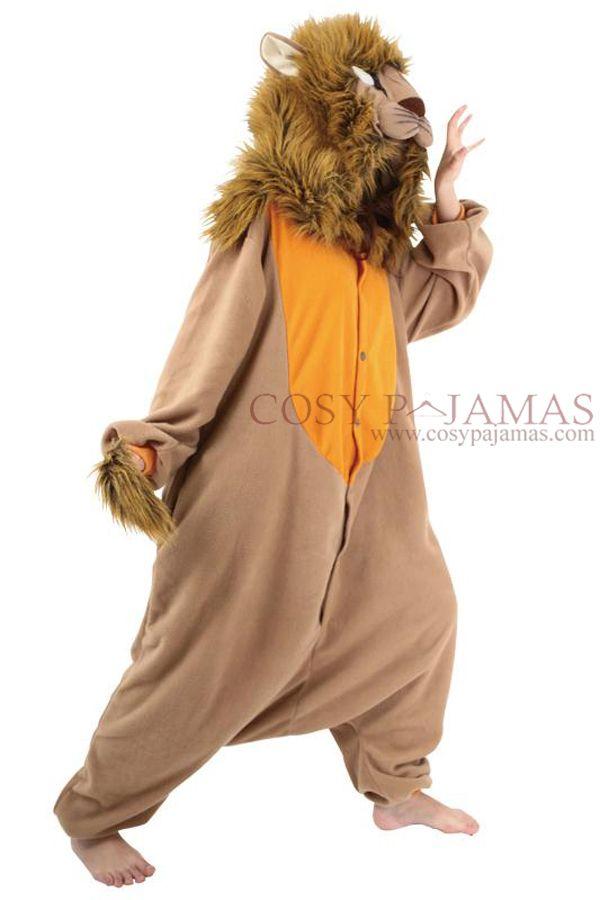 Adult Animal Onesie Lion Onesie Kigurumi Costume  9340e32df10d3