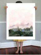 """Wake I"" - Art Print by Lindsay Megahed in beautiful frame options and a variety of sizes."
