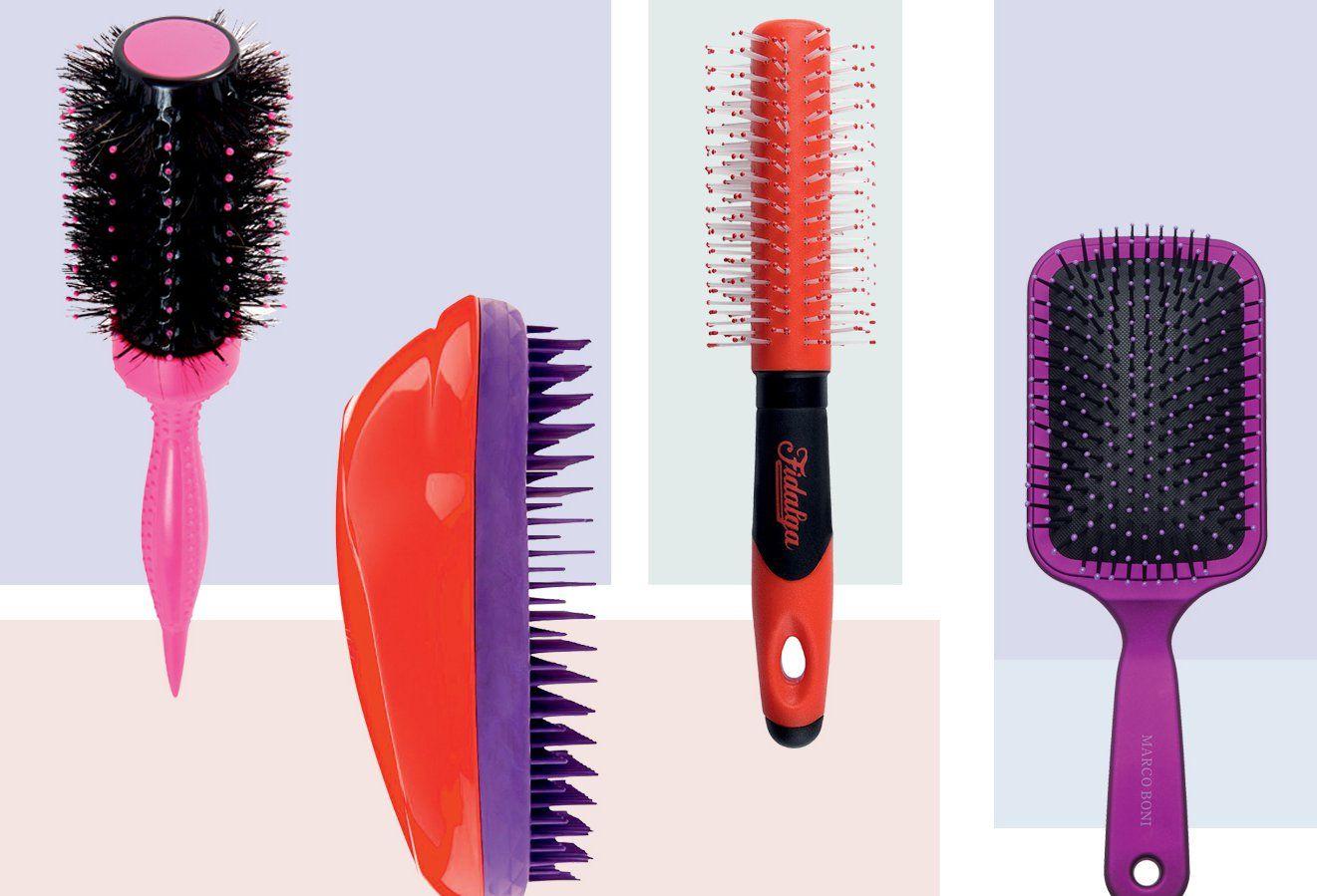 As escovas de cabelo ideais para pentear cabelos lisos e crespos