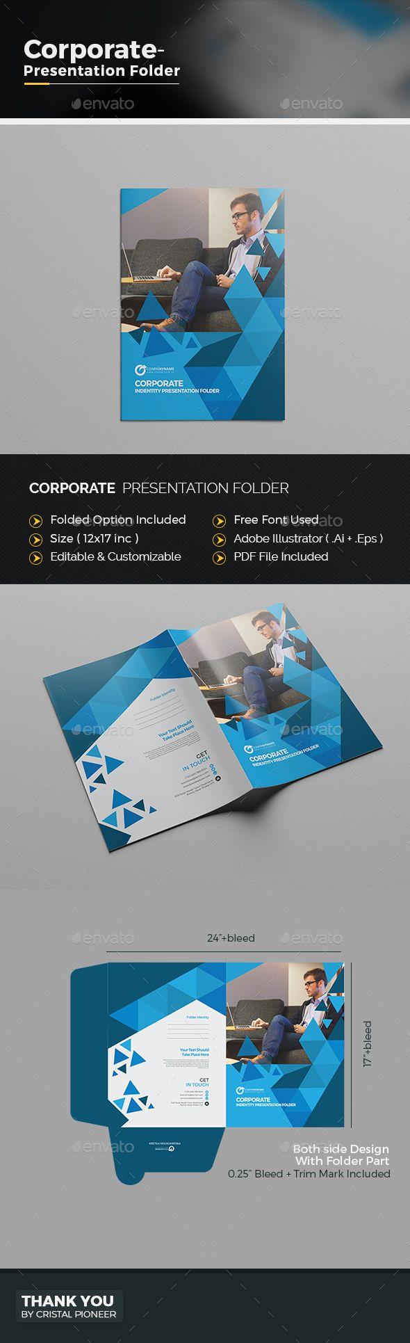 Abstract Presentation Folder | Pinterest | Carpeta