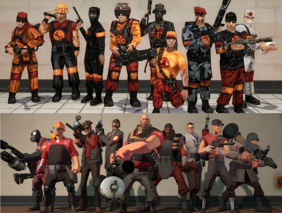 скачать игру Team Fortress 1 через торрент - фото 5