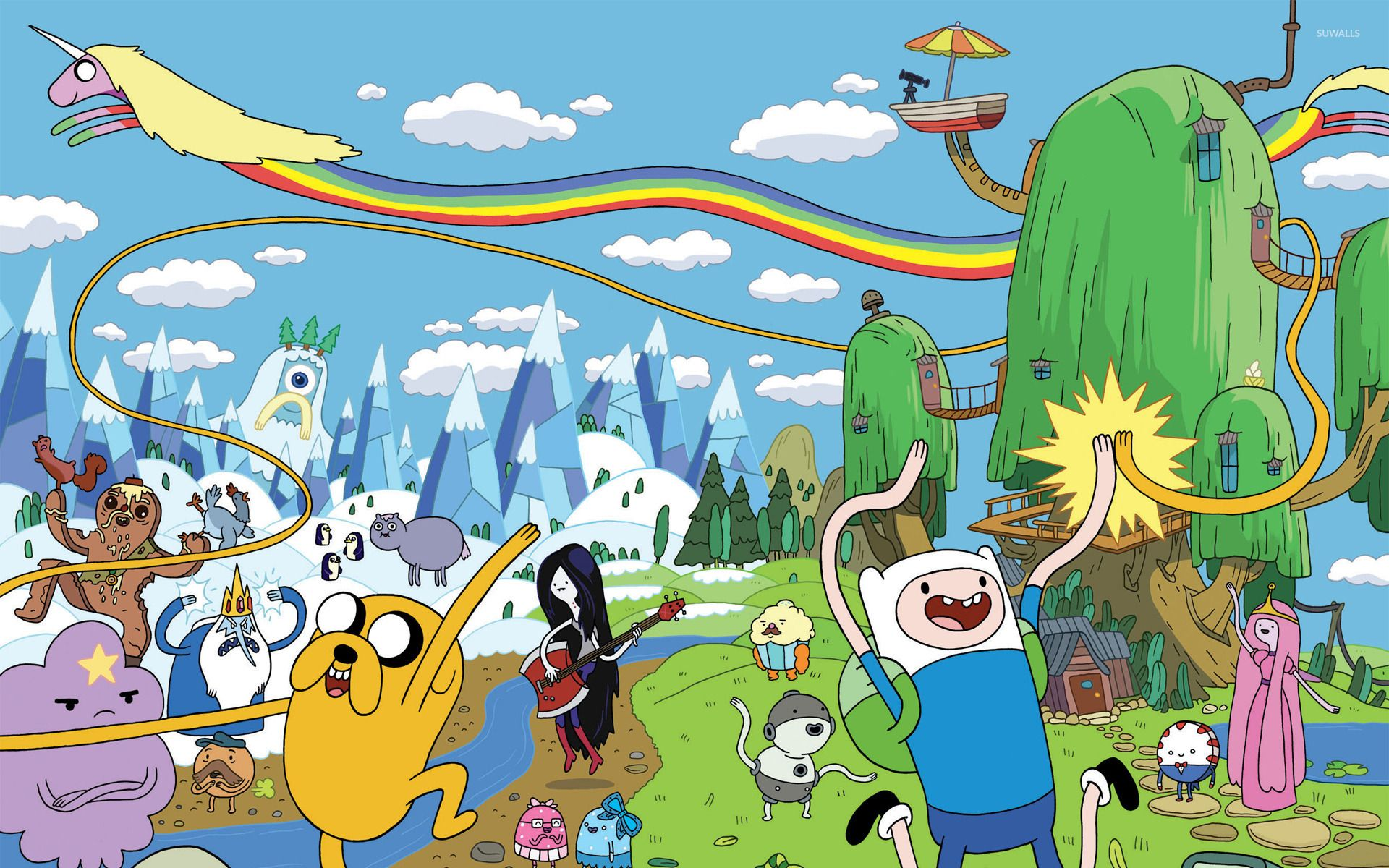 Adventure Time Desktop Wallpaper 1920 1200 Adventure Time Mobile Wallpapers