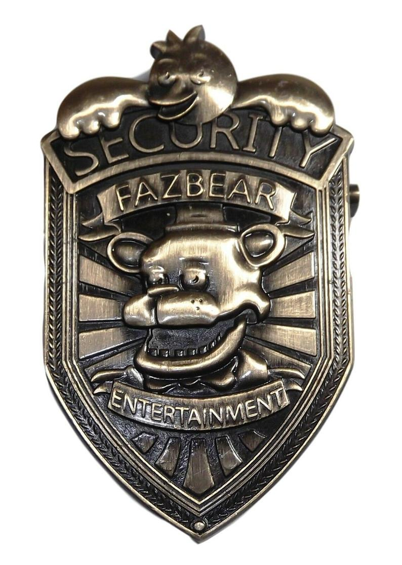 Five Nights At Freddy S Security 2 1 4 Inch Tall Metal Pin Etsy Five Nights At Freddy S Five Night Freddy