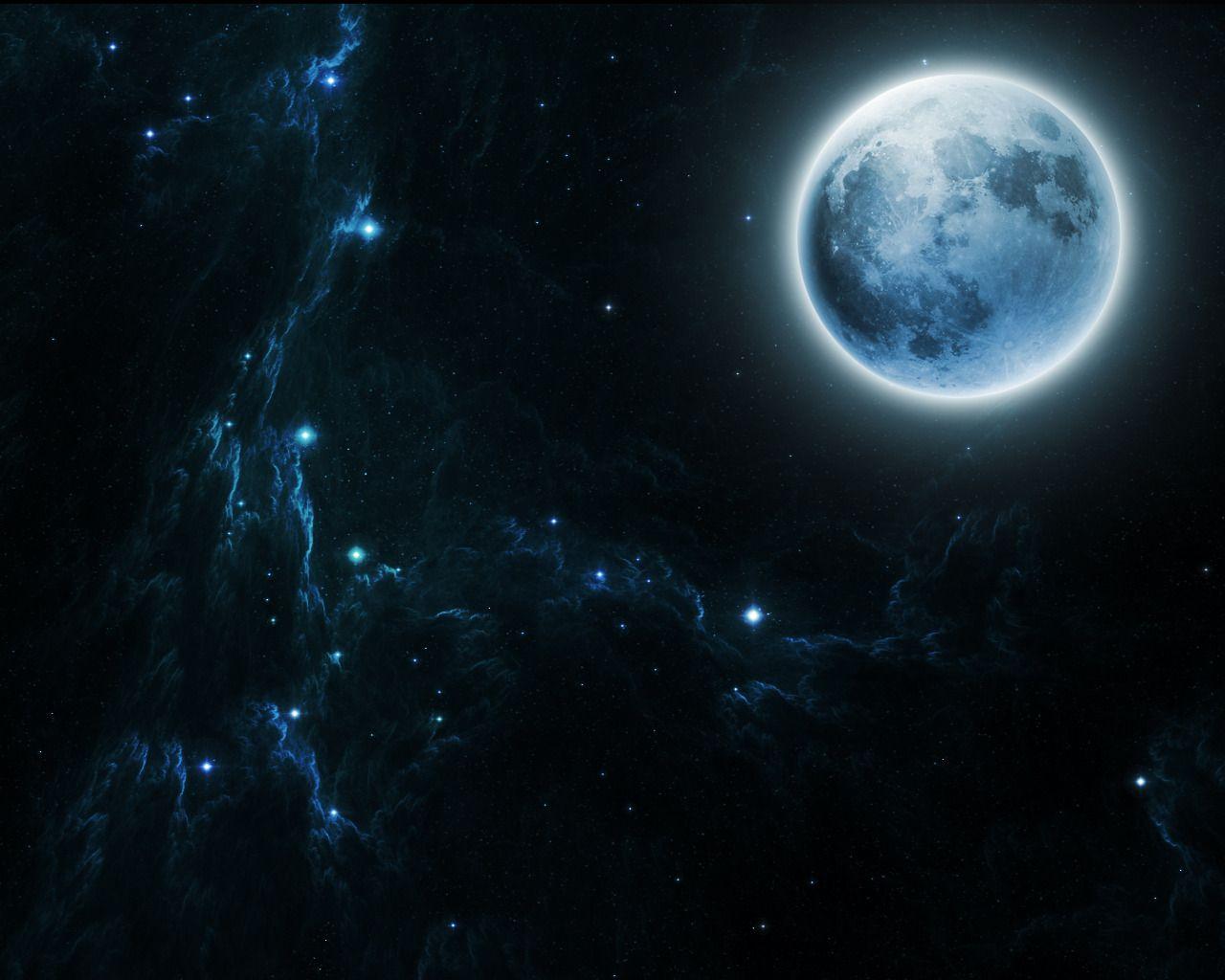 good witchcrafting | Beautiful moon, Sci fi wallpaper ...
