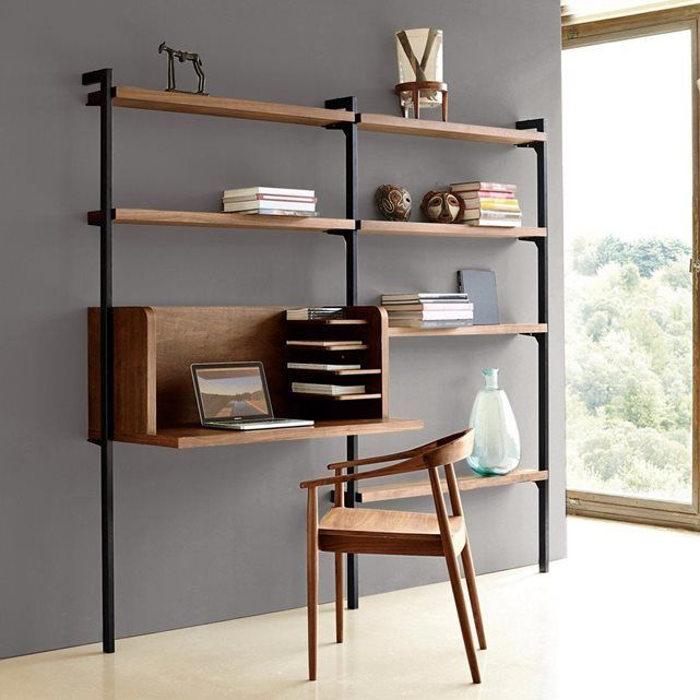 r sultat de recherche d 39 images pour bureau aerien etagere metal shelves libraries. Black Bedroom Furniture Sets. Home Design Ideas