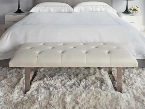 Contemporary Bedroom Bench | Bedroom Ideas in 2019 ...