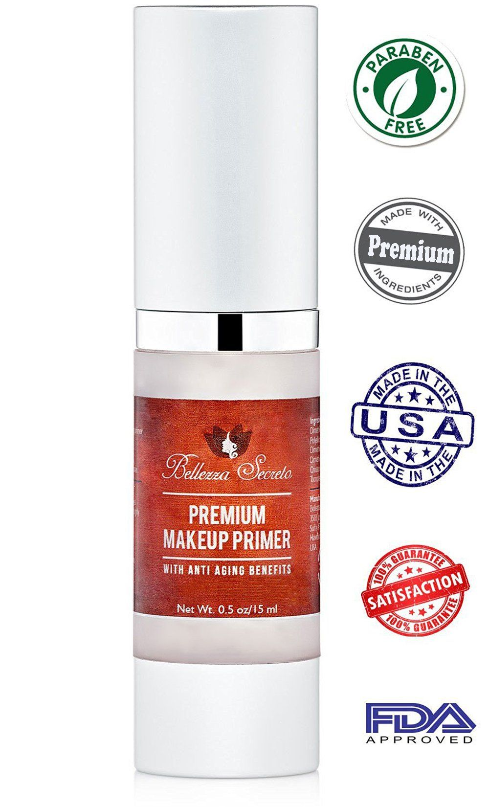 Premium Foundation Makeup Primer anti aging fine lines