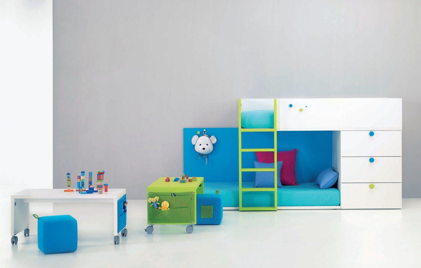 Literas juveniles e infantiles y camas tren para ni os - Dormitorios infantiles madrid ...