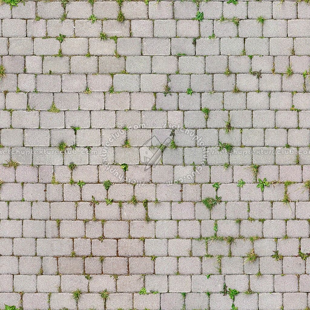 Concrete Regular Blocks Outdoor Flooring Textures Seamless Tekstury