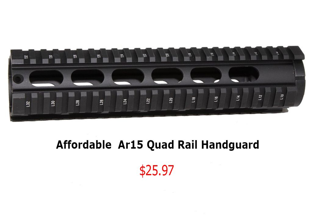 Shop for AR 15 quad rail handguard, free float handguard at
