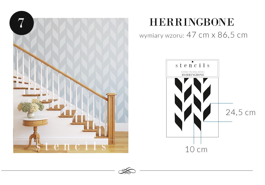 Szablon Malarski Powtarzalny Wzory Geometryczne 4633254290 Oficjalne Archiwum Allegro Home Decor Decals Home Decor Decor
