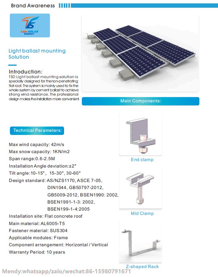 Light Ballast Mounting Solution In 2020 Roof Solar Panel Ballast Flat Roof