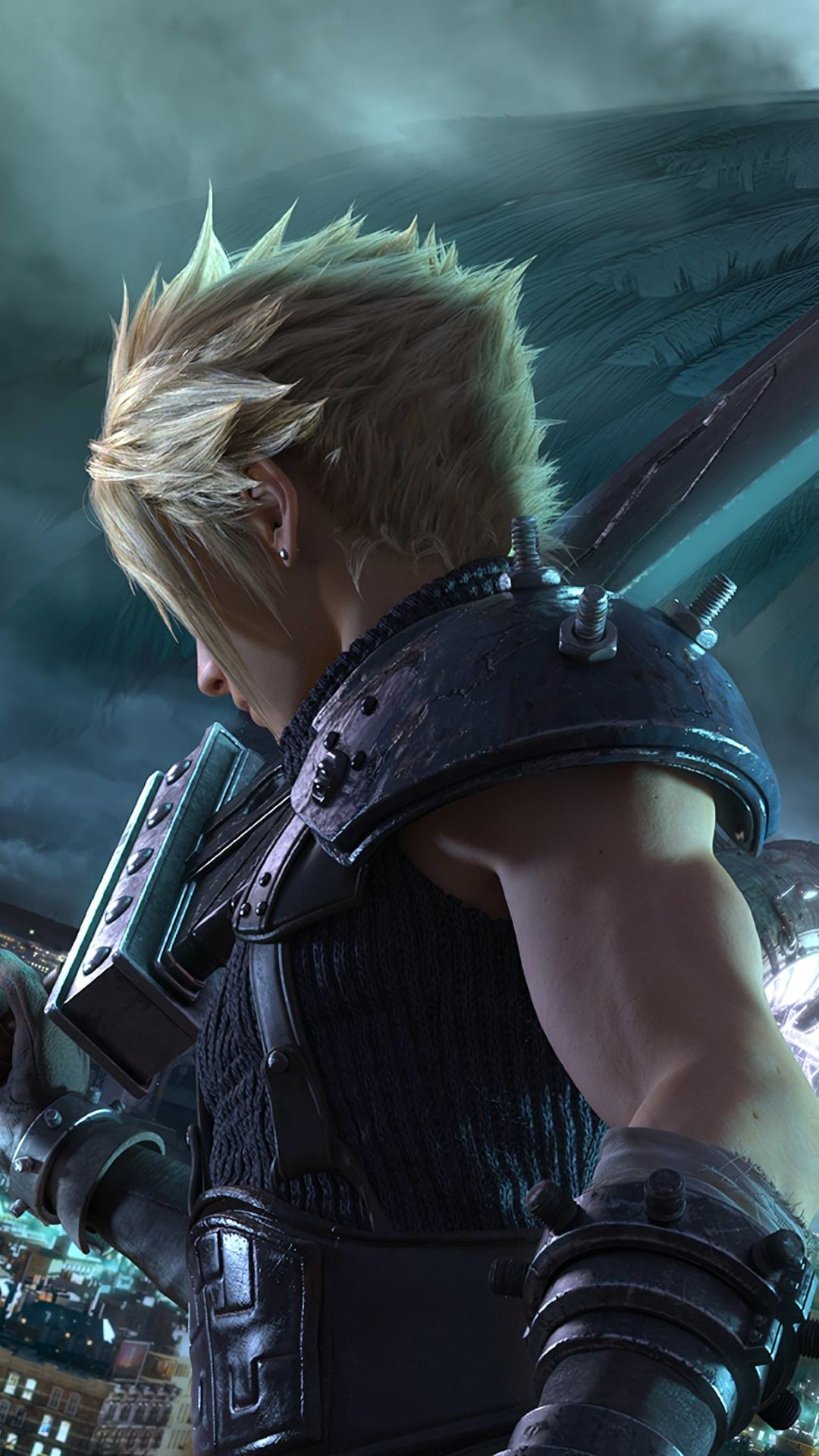 Final Fantasy Wallpaper Cloud Strife Final Fantasy Cloud Strife Final Fantasy Xv Wallpapers Final Fantasy Vii Remake