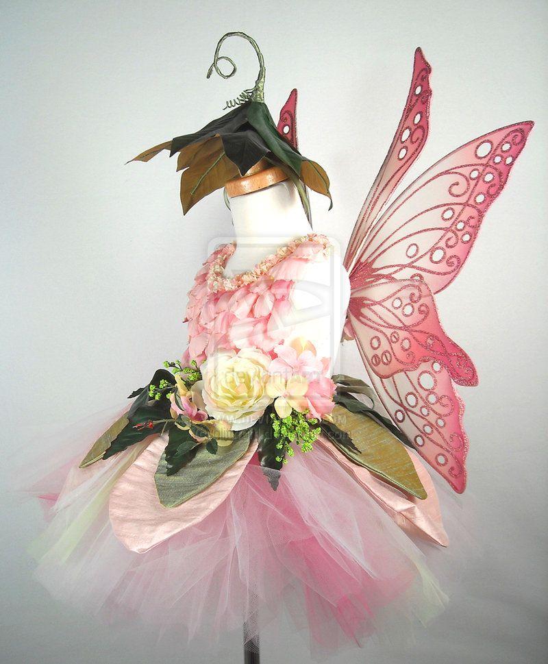 Pink Flower Fairy Side by glittrrgrrl.deviantart.com