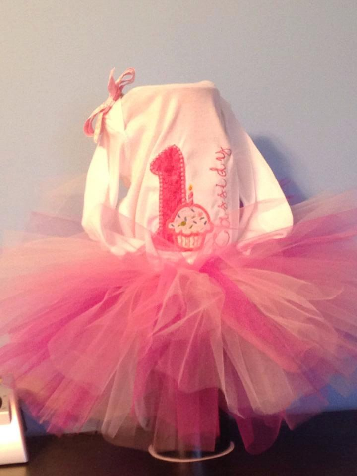 A personal favorite from my Etsy shop https://www.etsy.com/listing/223072115/birthday-tutu-outfit