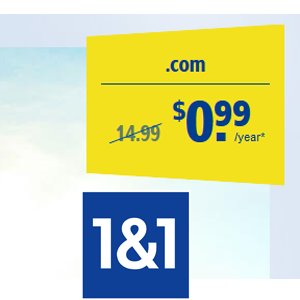 COM Domain Name With Only 99 Cent For First Year At 11 KnowledgeFacts