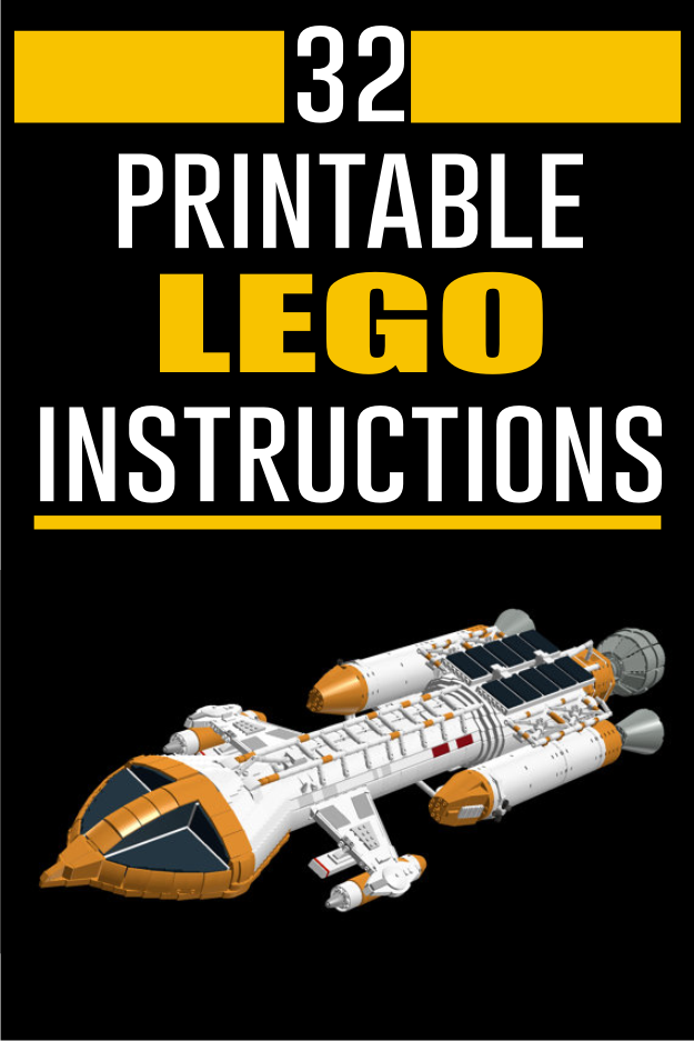 These Are Lego Building Instructions For My Design Of The Space