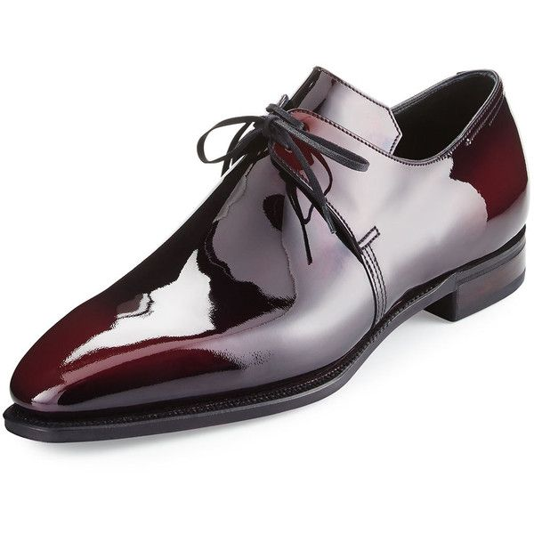 Corthay Arca Patent Leather Derby Shoe (104 c3a7eccf7758