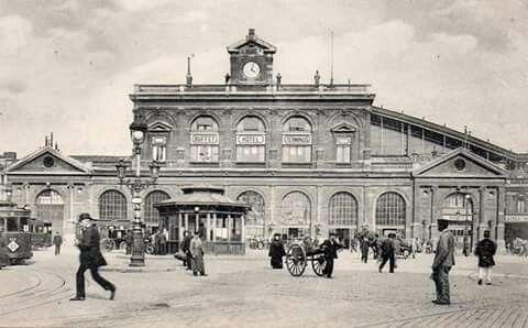 Gare Lille Flandre 1900 Lille Gare Nord