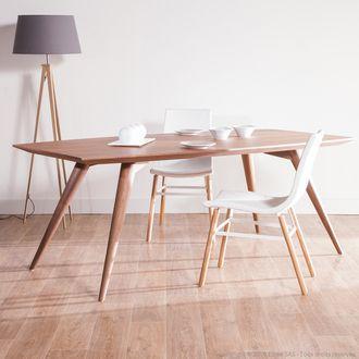 table à manger en bois longueur 200cm nordland | for the dining