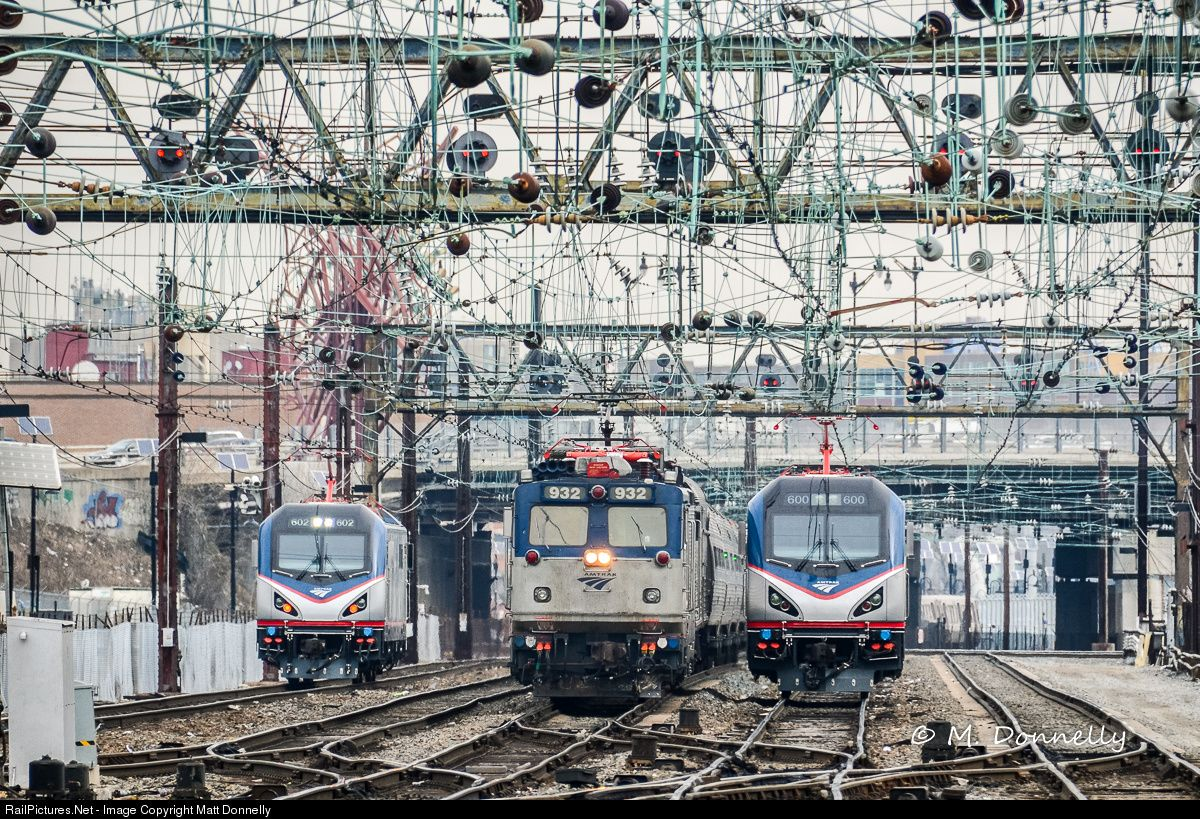 RailPictures.Net Photo: AMTK 932 Amtrak ASEA AEM-7 at Washington, District of Columbia by Matt Donnelly