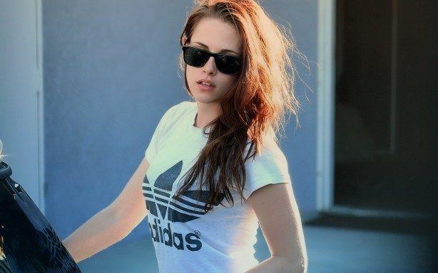 fashion sunglasses for women  KRISTEN STEWART WEARTING SUN GLASS