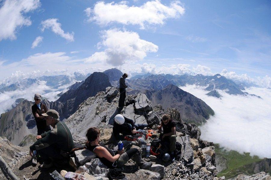 Klettersteig Schweiz : Klettersteig in der schweiz: aber dann haben wir es places