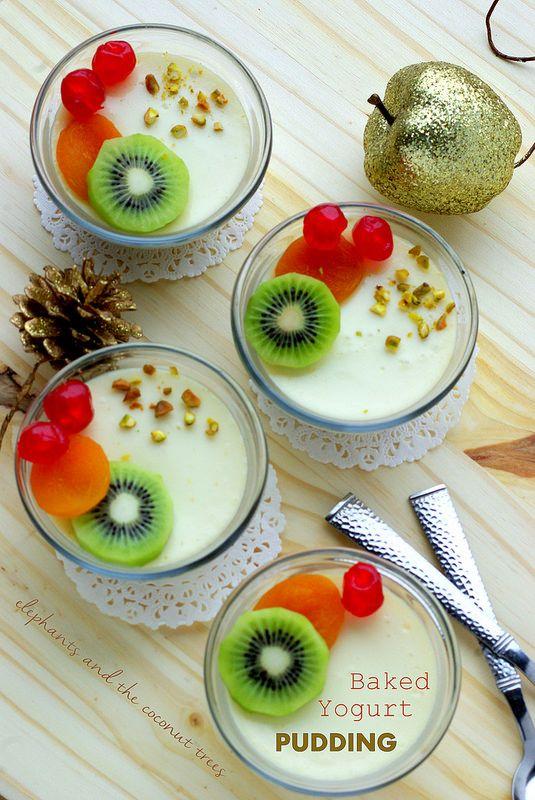 elephants and the coconut trees: Baked Yogurt Pudding / Baked Bhapa Doi (Bengali Dessert)