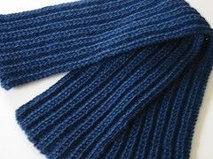 How To Knit A Scarf For A Man Ehow Com Mens Scarf Knitting Pattern Mens Knitted Scarf Scarf Knitting Patterns