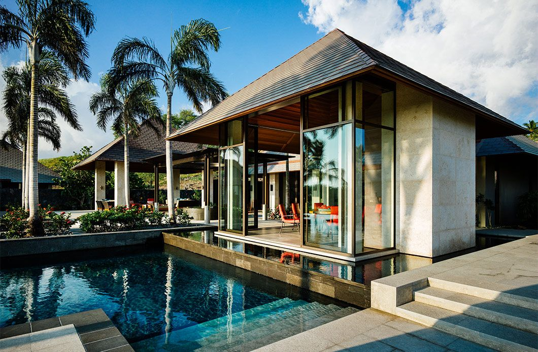 Kauhale Kai tropical modernism in 2019 Bali style home