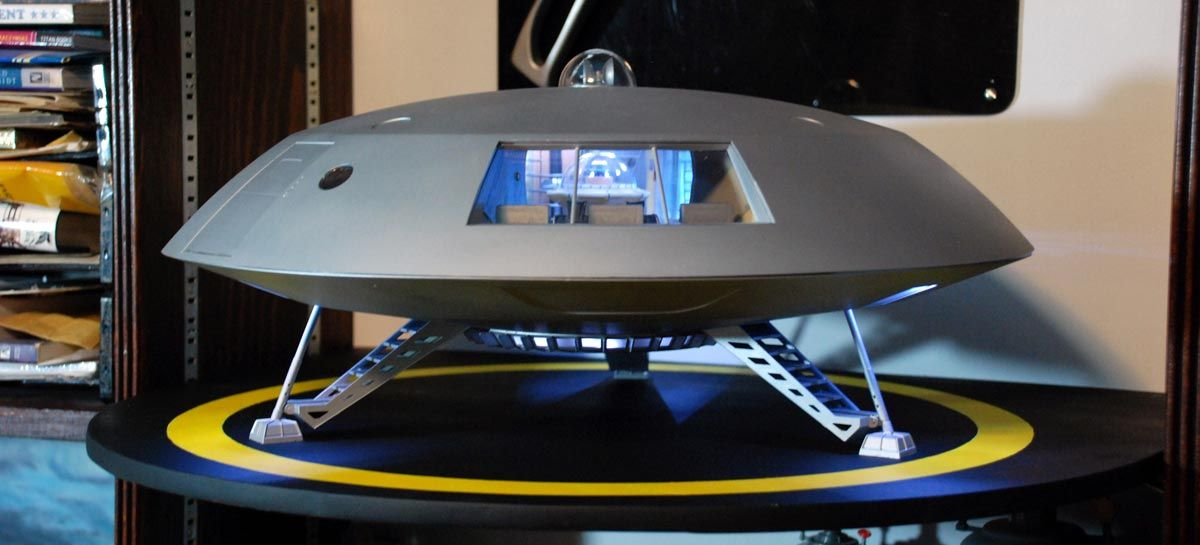 Jupiter 2 - from the 1960s Irwin Allen series Lost in Space
