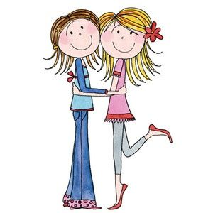 sisters sharing clip art ctr relief society pinterest clip rh pinterest com sister clipart big sister and little sister clipart