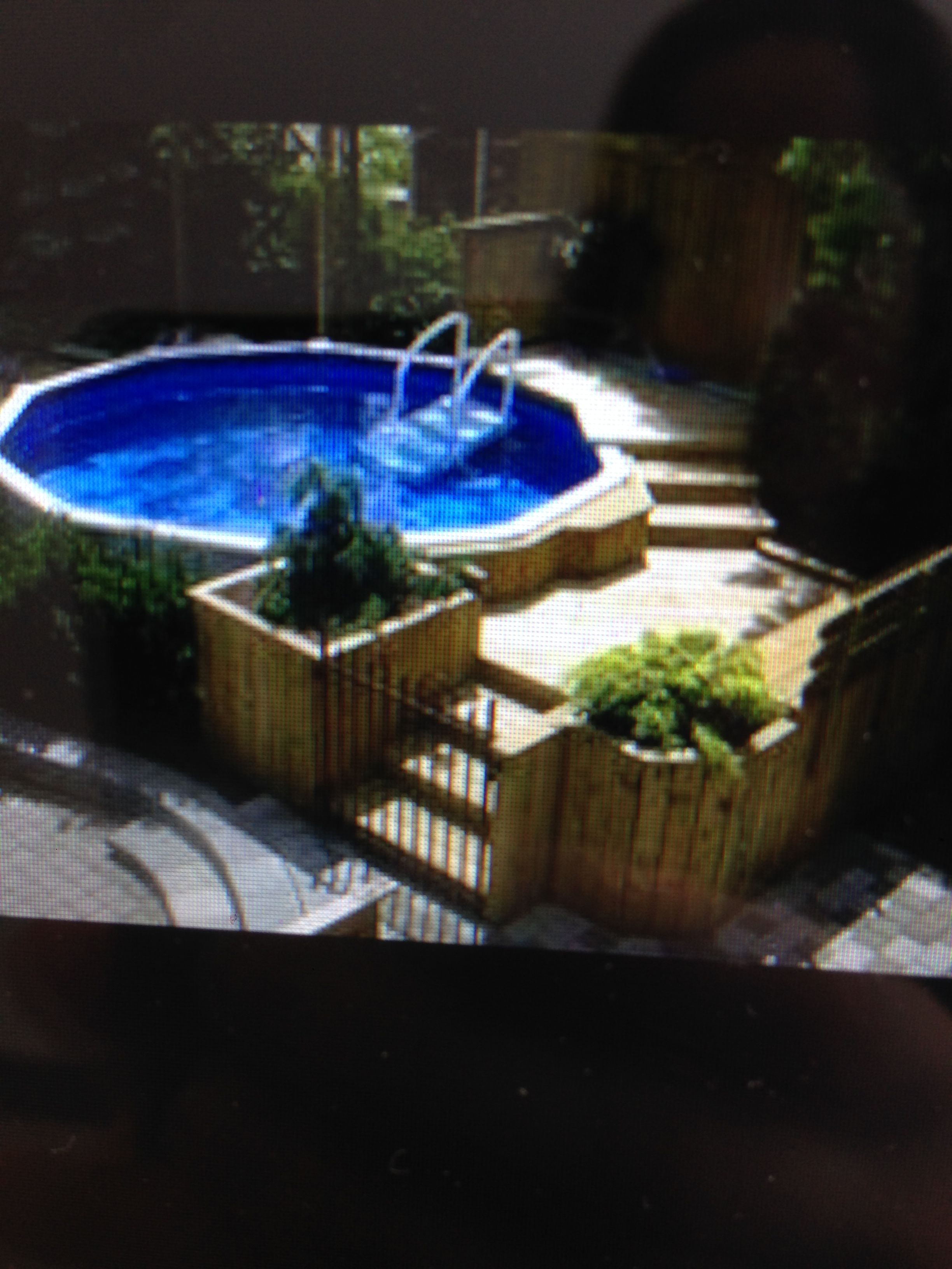 Amenagement Terrasse Ronde Ide Amnagement Piscine Hors Sol Amenagement Piscine Hors