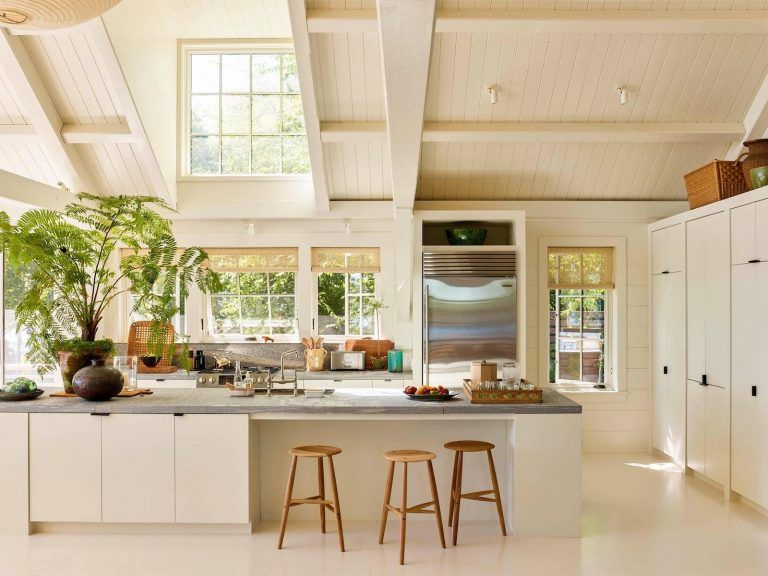 10 Almost All White Kitchens That Aren T Plain I Beautiful