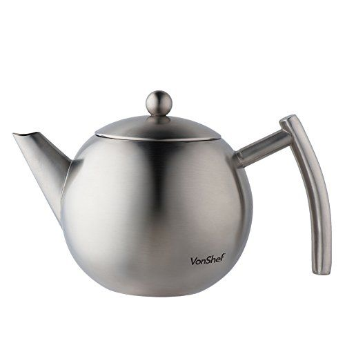 VonShef Medium 1 Litre Satin Polish Stainless Steel Tea P... https://www.amazon.co.uk/dp/B00YY68VMK/ref=cm_sw_r_pi_dp_x_npXqybMCAW2GW